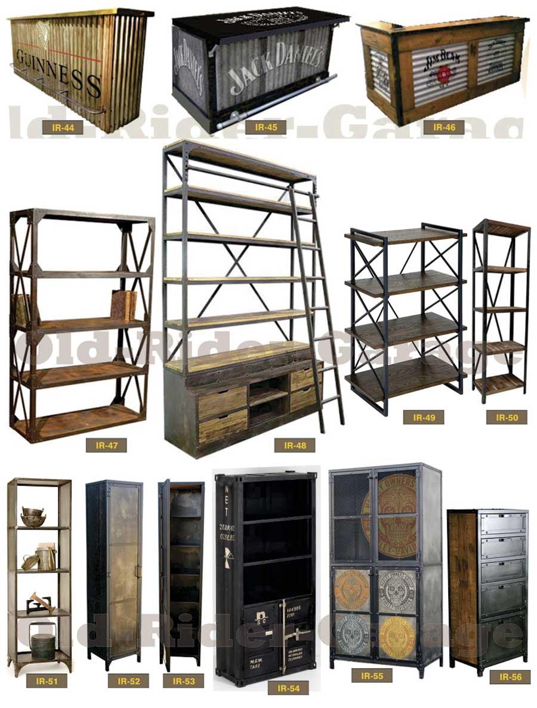 Old rider muebles vintage industriales for Muebles industriales